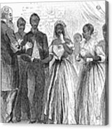 Freedmen: Wedding, 1866 Acrylic Print by Granger