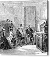 Freedmens Bureau, 1867 Acrylic Print