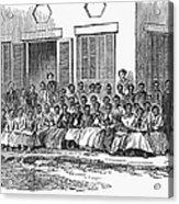 Freedmens School, 1868 Acrylic Print by Granger