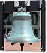 Freedom Bell Acrylic Print