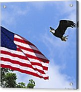 Freedom Feeds The Family Acrylic Print