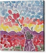 Freedom Girl     Acrylic Print