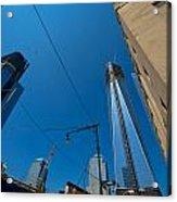 Freedom Tower In Progress Acrylic Print