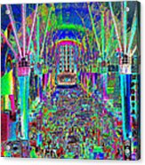 Fremont Street Experience Nevada Acrylic Print
