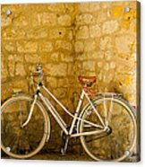 French Bicycle Acrylic Print by Georgia Fowler