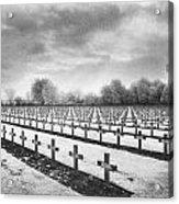 French Cemetery Acrylic Print by Simon Marsden