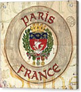French Coat Of Arms Acrylic Print