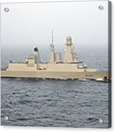 French Destroyer Fs Forbin Acrylic Print