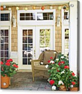 French Doors And Patio Acrylic Print by Andersen Ross