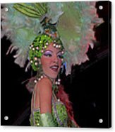 French Feathers Acrylic Print
