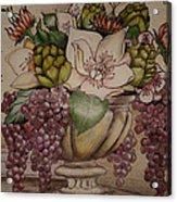 French Flouers Acrylic Print