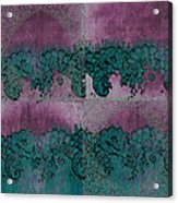 French Lace Acrylic Print