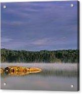 French Lake, Quetico Provincial Park Acrylic Print