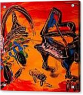 French Music Acrylic Print