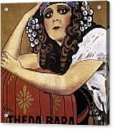 French Poster: Salome, 1918 Acrylic Print