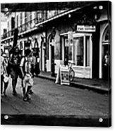 French Quarter Commute Acrylic Print