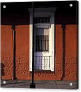 French Quarter Door And Shadows New Orleans Acrylic Print