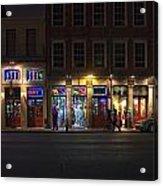 French Quarter Shopping At Night Acrylic Print