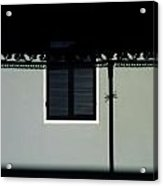 French Quarter Shutter And Shadows Acrylic Print