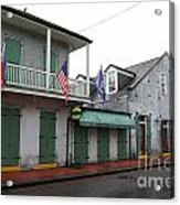 French Quarter Tavern Architecture New Orleans Acrylic Print