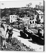 French Renault Wwi Tanks - France  Acrylic Print