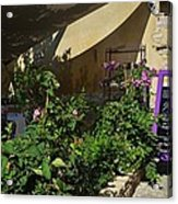 French Restaurant Acrylic Print