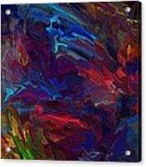 Frenetic Inspiration Acrylic Print