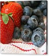 Fresh Berries Acrylic Print