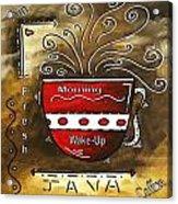 Fresh Java Original Painting Acrylic Print