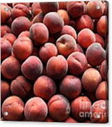 Fresh Peaches - 5d17816 Acrylic Print