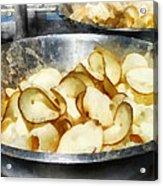 Fresh Potato Chips Acrylic Print