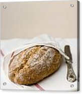 Freshly Baked Whole Grain Bread Acrylic Print by Shahar Tamir