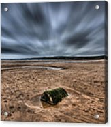 Freshwater West Blur Acrylic Print