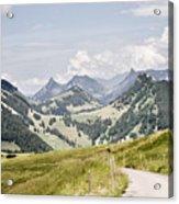 Fribourg Alps Acrylic Print