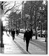 Friday In The City Acrylic Print