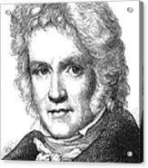 Friedrich Wilhelm Bessel Acrylic Print