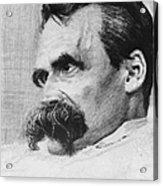 Friedrich Wilhelm Nietzsche, German Acrylic Print by Photo Researchers