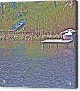 Friendship Lake 4 Acrylic Print