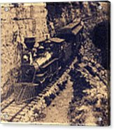 Frisco Steam Train Acrylic Print