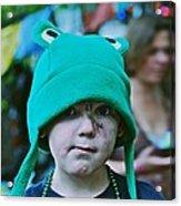 Frog Hat Acrylic Print
