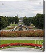 Frogner Park Acrylic Print