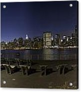 From Gantry At Night Acrylic Print
