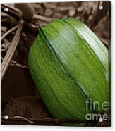 From Green To Orange Acrylic Print by Luke Moore
