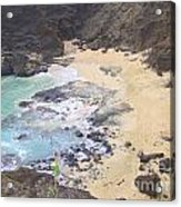 From Here To Eternity Beach Acrylic Print