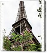 From Paris With Love Acrylic Print