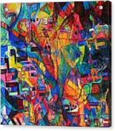 from Sefer Yetzirah the letter Yud Acrylic Print