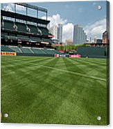 From The Visitors Dugout Acrylic Print