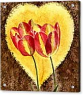 From Tulip With Love Acrylic Print