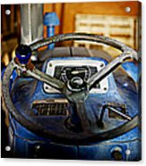 From Where I Sit Tractor Acrylic Print