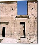 Front Of Philae Wall Acrylic Print